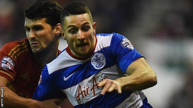 Conor Washington joined QPR from Peterborough united in January