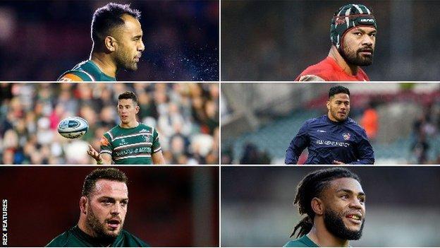 Six players leaving