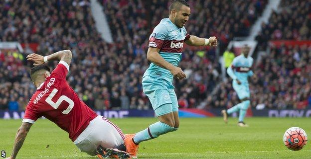 Marcos Rojo and Dimitri Payet