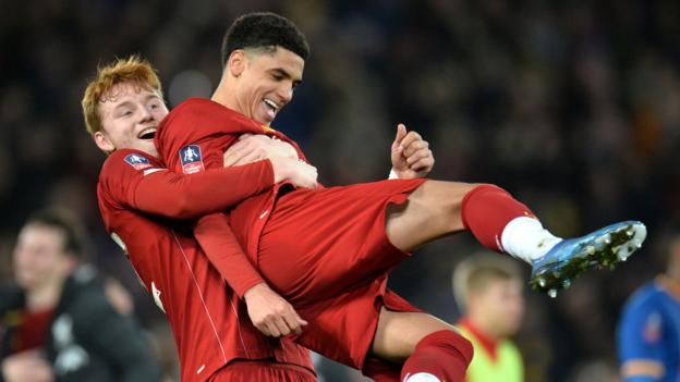 Liverpool 1-0 Shrewsbury: Absent Jurgen Klopp 'delighted' with FA Cup win thumbnail