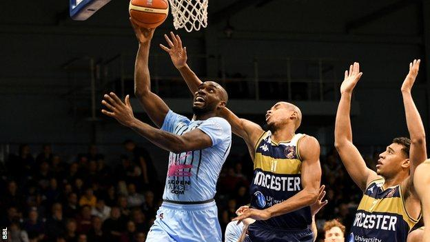 Tayo Ogedengbe in action for Surrey