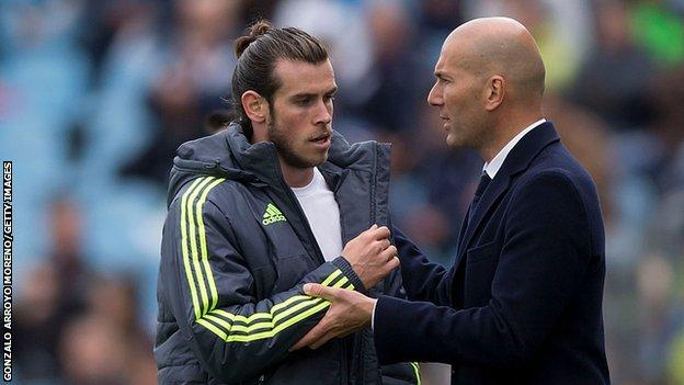Bale and Zidane