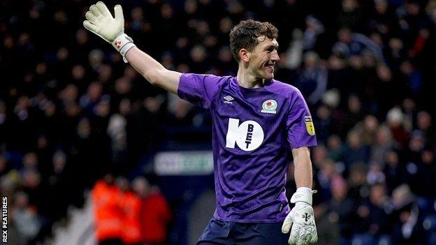 Blackburn Rovers' stand-in keeper, midfielder Richard Smallwood, saw out the final 17 minutes to earn his side a point
