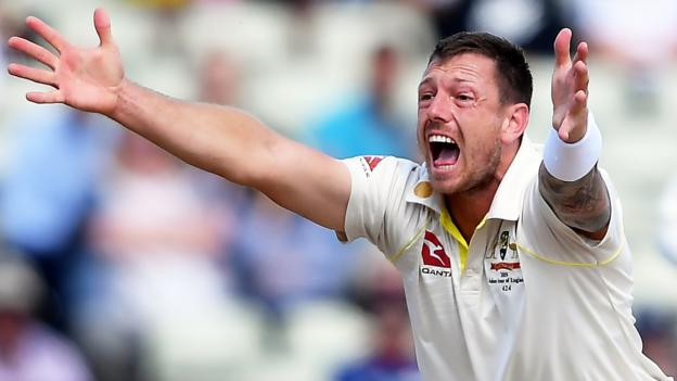 Australia v Pakistan: Bowler James Pattinson suspended for first Test - BBC News