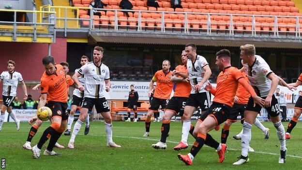 Dundee United 0-0 Aberdeen: Visitors frustrated despite dominance - BBC  Sport