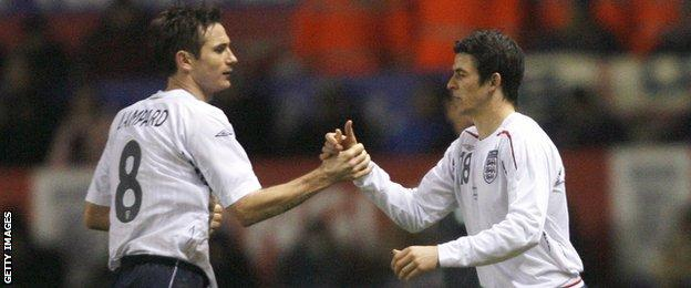 Joey Barton was capped once by England in 2007