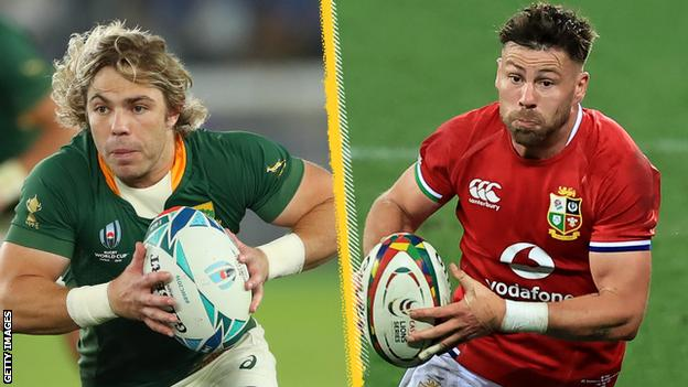 British and Irish Lions 2021: Key head to heads for South Africa Test and readers' XV thumbnail