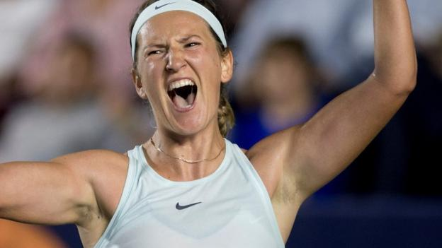Monterrey Open: Victoria Azarenka beats Angelique Kerber to reach first final for three years thumbnail