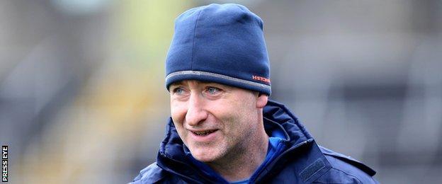 Cavan manager Mattie McGleenan