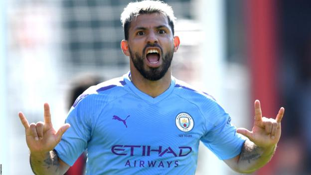 Bournemouth 1-3 Manchester City: Aguero double seals win for champions thumbnail