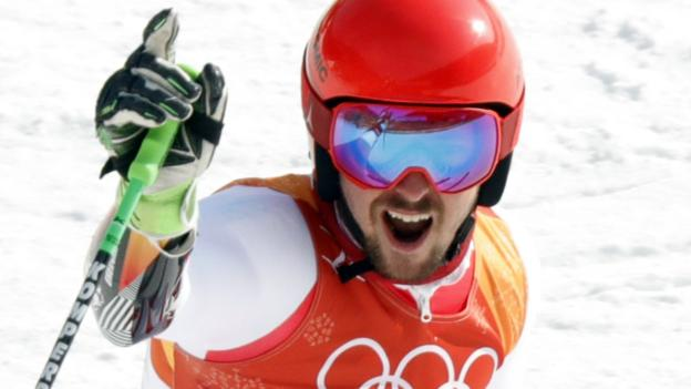 Winter Olympics: Austria's Marcel Hirscher wins giant slalom for second gold