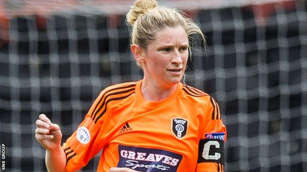 Leanne Ross scored nine goals on Sunday