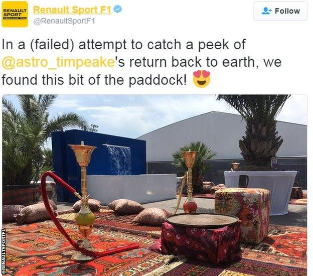 Renault Sport F1 twitter