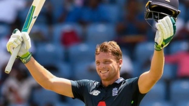 England in West Indies: Jos Buttler and Eoin Morgan hit brutal centuries for England thumbnail