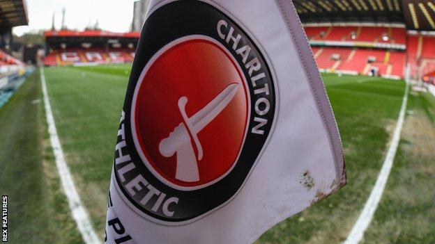 Charlton Athletic corner flag
