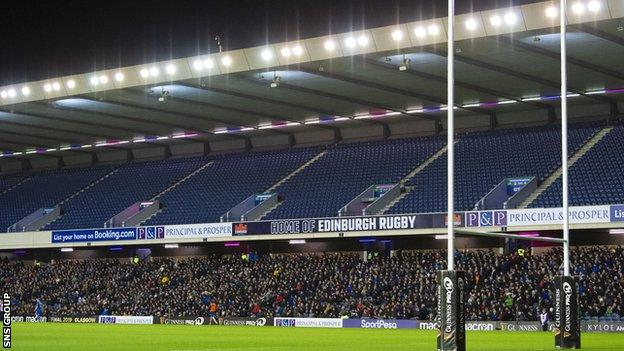 The Scottish government is considering proposals from Scottish Rugby to have 1000 fans at the Pro14 opener
