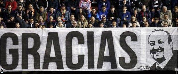 Rafael Benitez banner
