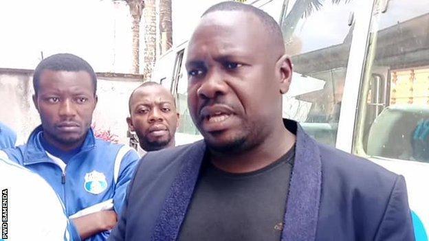 PWD Bamenda president Pascal Abunde