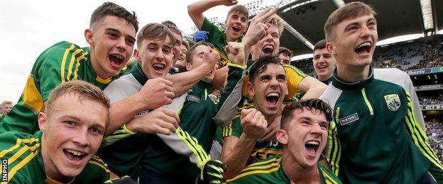 Kerry had an easy win over Tipperary in the 2015 All-Ireland Minor final