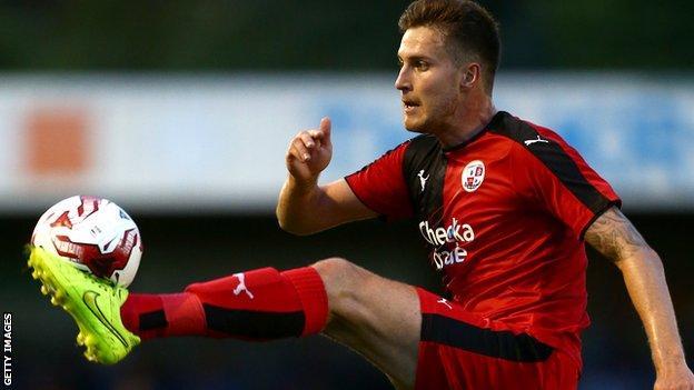 Crawley Town's Conor Henderson
