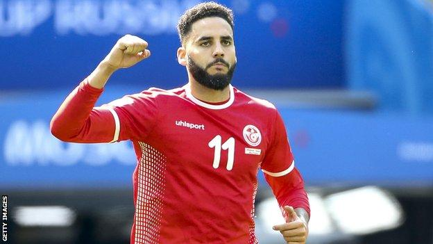 Tunisia's Dylan Bronn