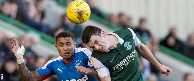 James Tavernier and John McGinn