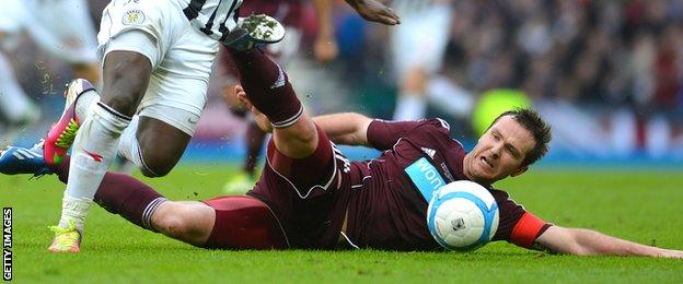 Andy Webster's move from Hearts to Wigan Athletic