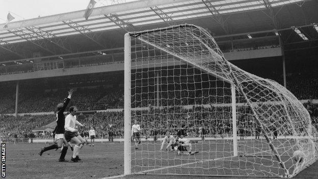 Jim McCalliog scores at Wembley