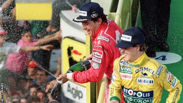 Ayrton Senna v Michael Schumacher
