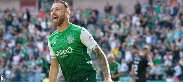 Boyle netted the winner for Hibs and was a menace to the Livingston defence, particularly in the second half.
