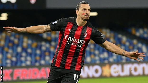 Zlatan Ibrahimovic has scored 10 Serie A goals this season to help AC Milan to the top of the table