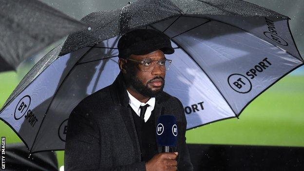 Ugo Monye working for BT Sport
