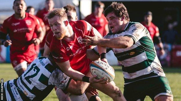 Jersey Reds v Ealing