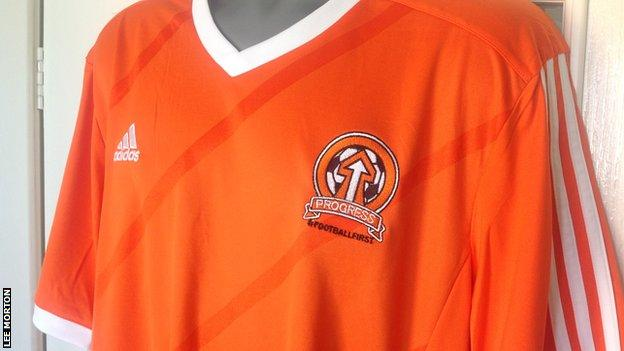 Blackpool Supporters' Trust shirt