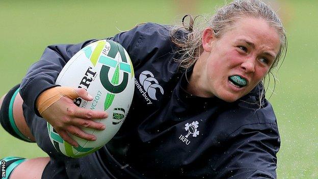Ireland flanker Ashleigh Baxter will start against Australia at UCD