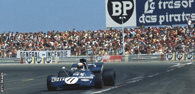 Jackie Stewart wins the first French Grand Prix held at the Circuit Paul Ricard
