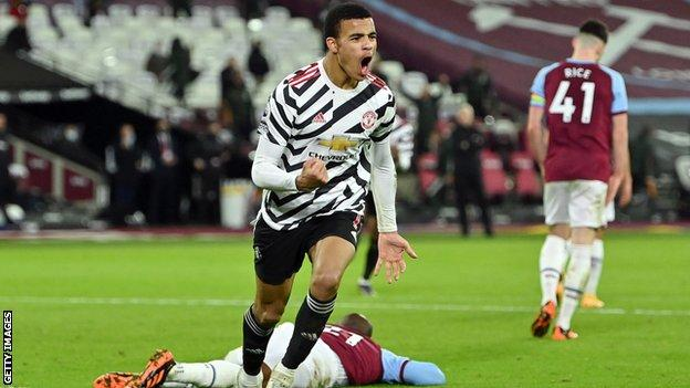 West Ham United 1 3 Manchester United Visitors Come From Behind Again Bbc Sport