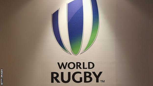 science World Rugby logo