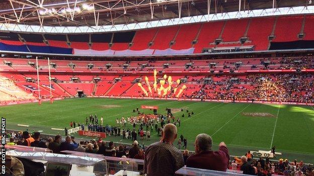 The attendance for the 2018 Challenge Cup final of 50,672 was the lowest since World War Two