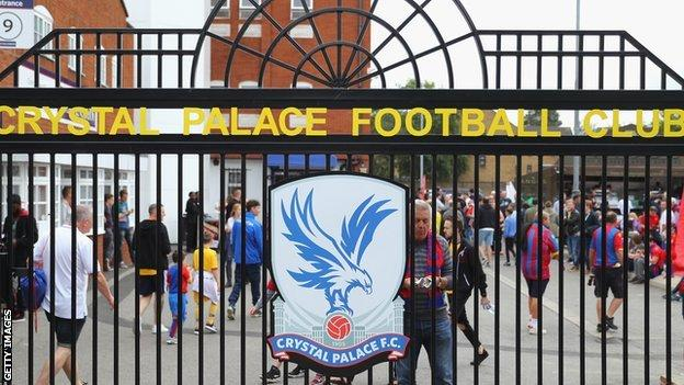 Crystal Palace are looking for their eighth manager in seven years,