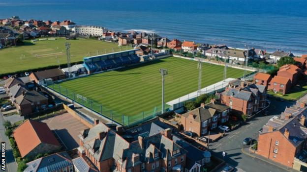 Whitby's ground is based close to the North Sea