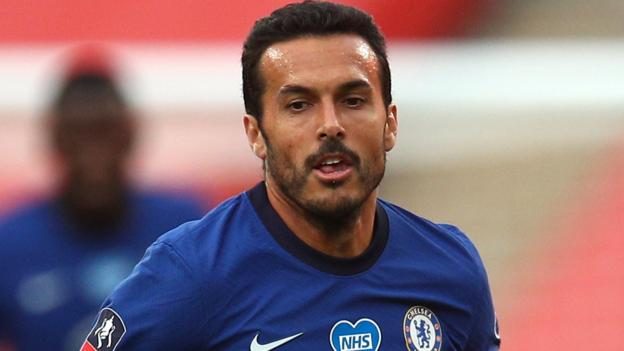 Pedro: Chelsea forward has successful surgery on dislocated shoulder - bbc
