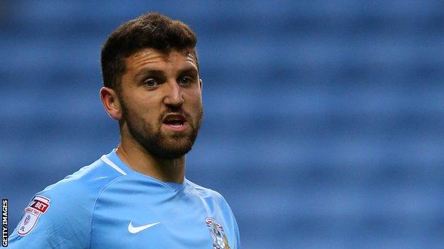 James Pearson made one appearance during a short spell with Coventry City last season