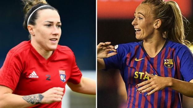 Women's Champions League final: Lyon Feminines v Barcelona Femenino thumbnail