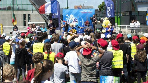 FIFA Women's World Cup France 2019 National Trophy tour