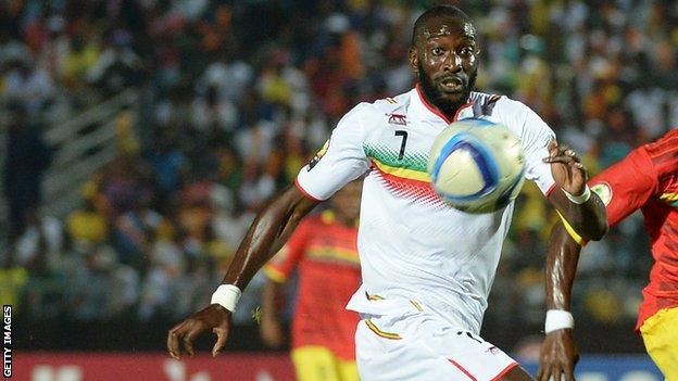 Mali forward Mustapha Yatabare