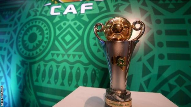 The Confederation Cup trophy