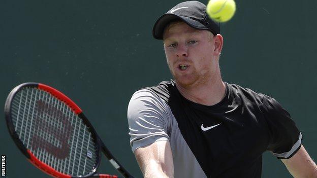 Kyle Edmund at the Miami Open