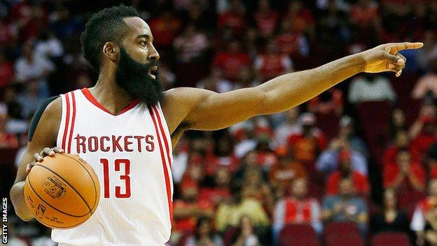 James Harden, who has left the Houston Rockets and joined the Brooklyn Nets