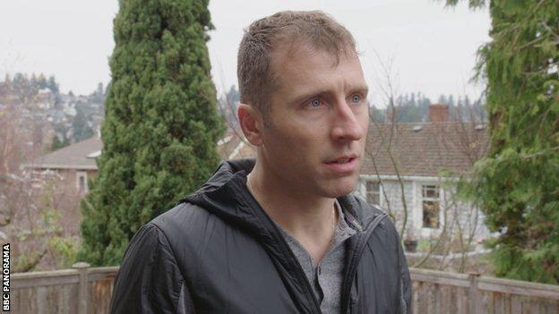 Danny Mackey talking to BBC Panorama